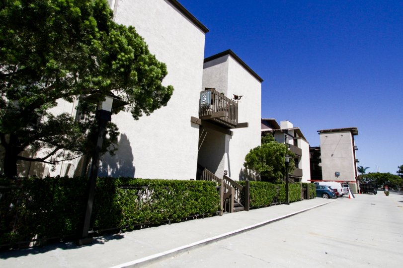 Marina Pacifica is a condo complex in Long Beach