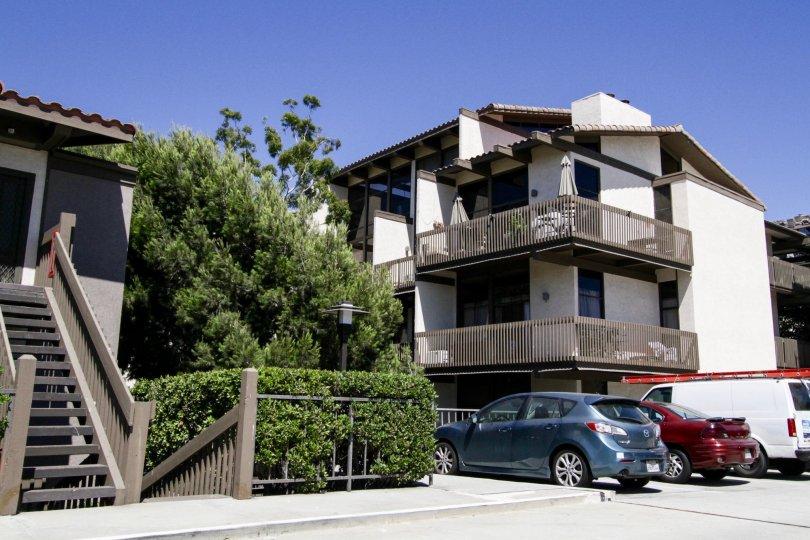 Marina Pacifica offers wraparound balconies on corner unit condos