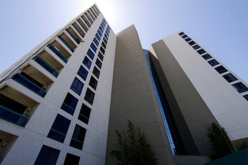 Ocean Club tower is a condo building in Long Beach