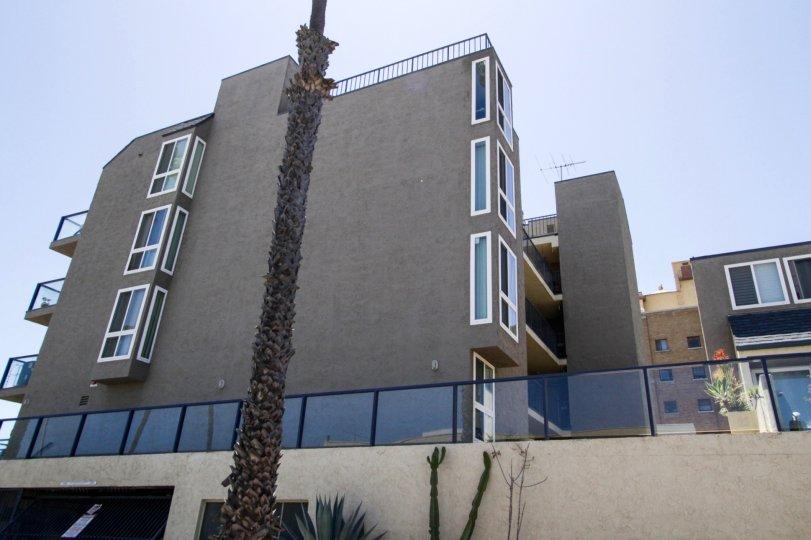 Ocean Terrace is a multistory condo building in Long Beach