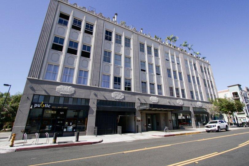 Walker Building Lofts condos in Long Beach