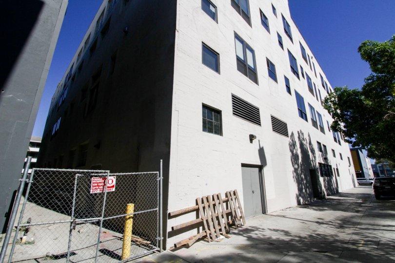 Alley behind Walker Building Lofts