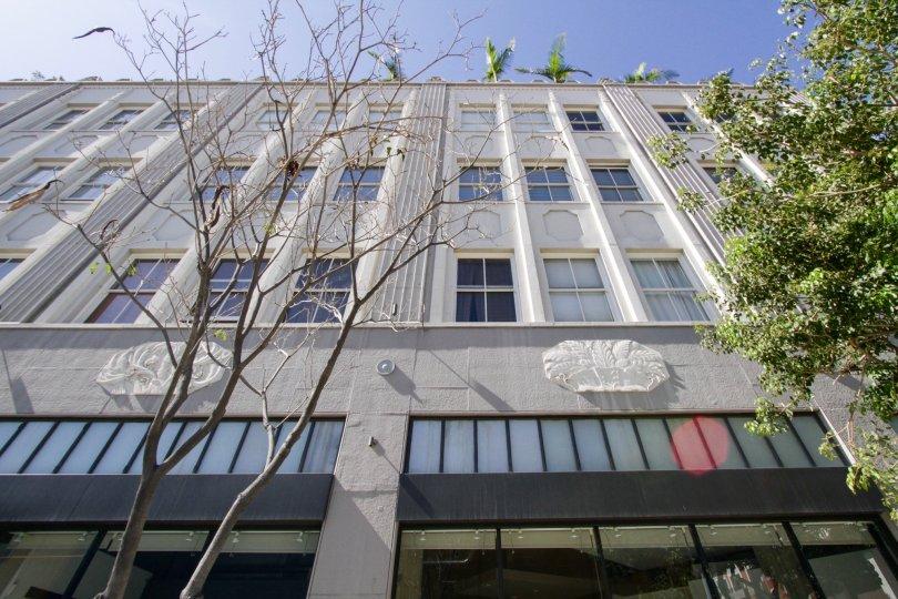 The Walker Building Lofts building in Long Beach