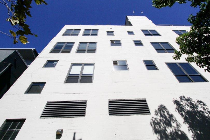 View of Walker Building Lofts condos