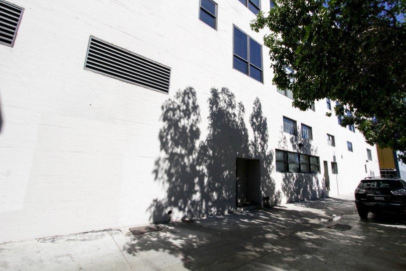 Walkway near Walker Building Lofts