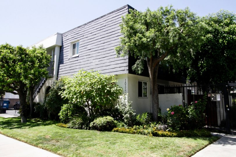 The Toluca Continental Townhomes building in North Hollywood
