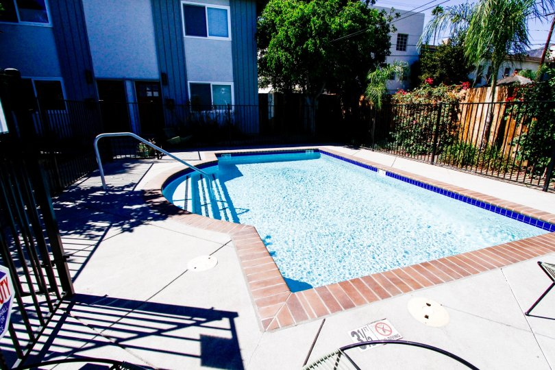The pool at 1119 Sonora Ave