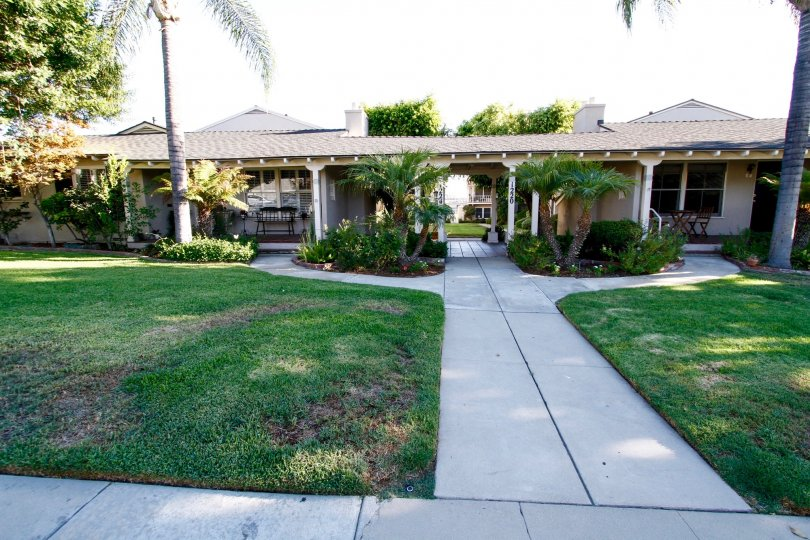 The grounds around 1220 E Glenoaks Blvd