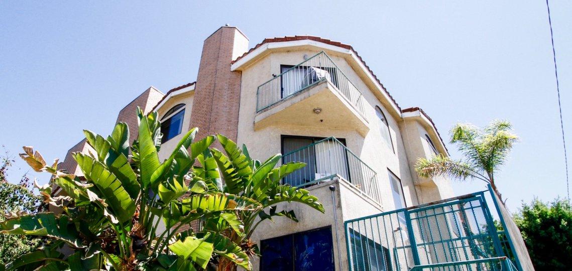 The balconies at Dryden Villas