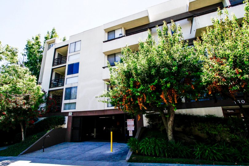 The Glendale Executive Townhomes building in Glendale California