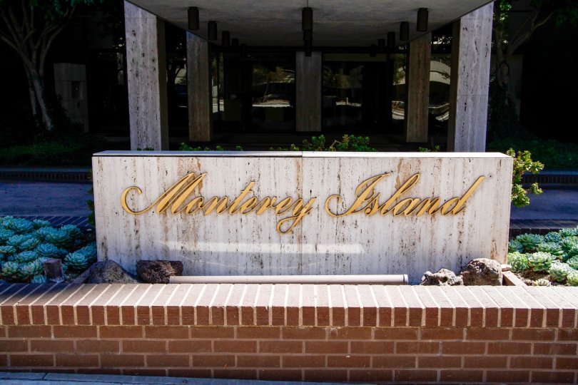 The name of Monterey Island upon entering into the property