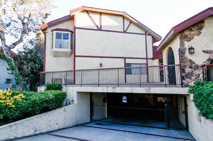 The Montrose Villas building in Glendale California