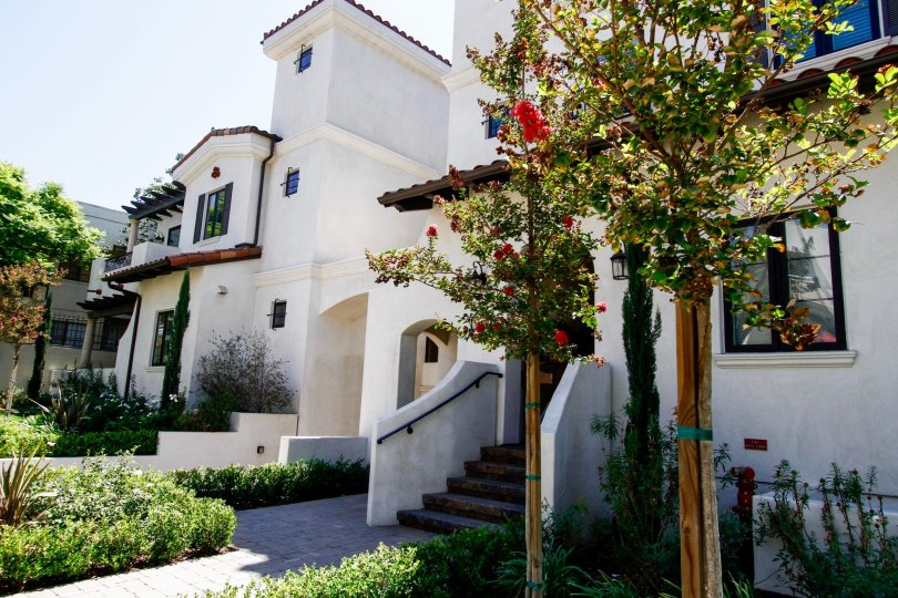 The Myrtle Villas building in Glendale California