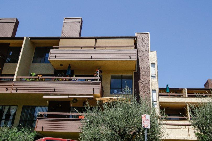 The balconies at Piedmont Park