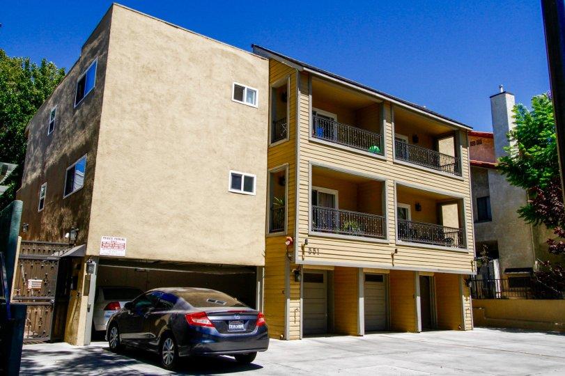 The Stocker Villas building in Glendale California