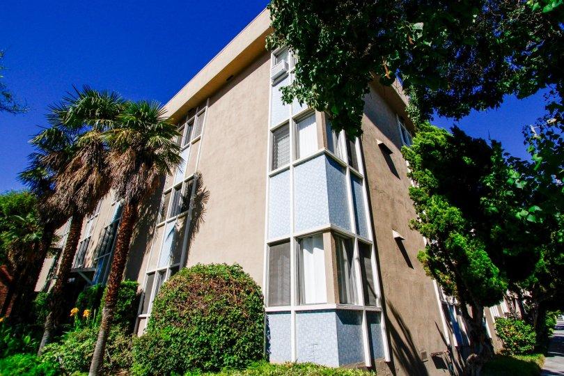 The Verdugo Villa building in Glendale California