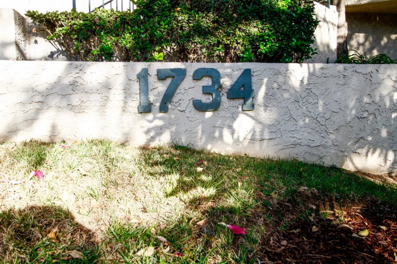 The address for Verdugo Villas