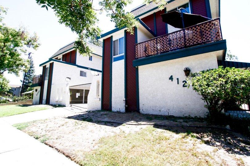 The Villa Monterey building in Glendale California