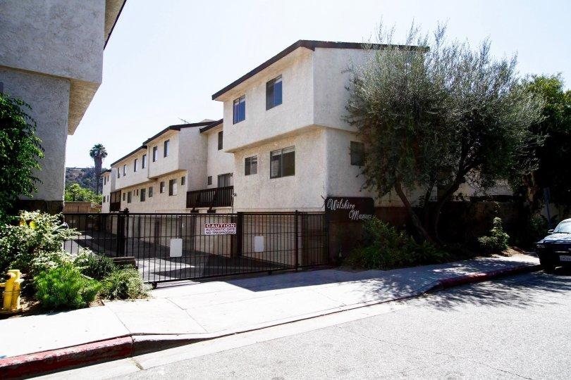 The Wilshire Manor Verdugo building in Glendale California