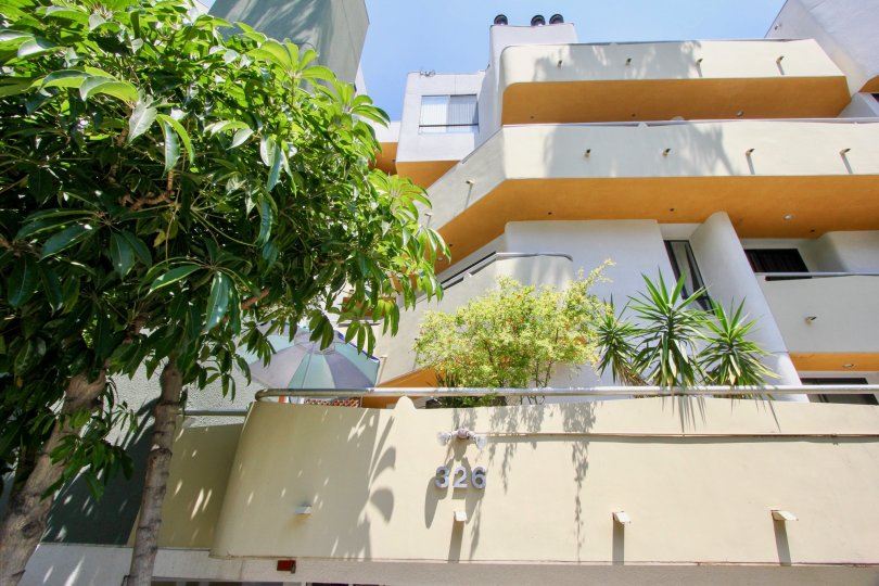 the house no 326 with tree 2 floor house with balcony