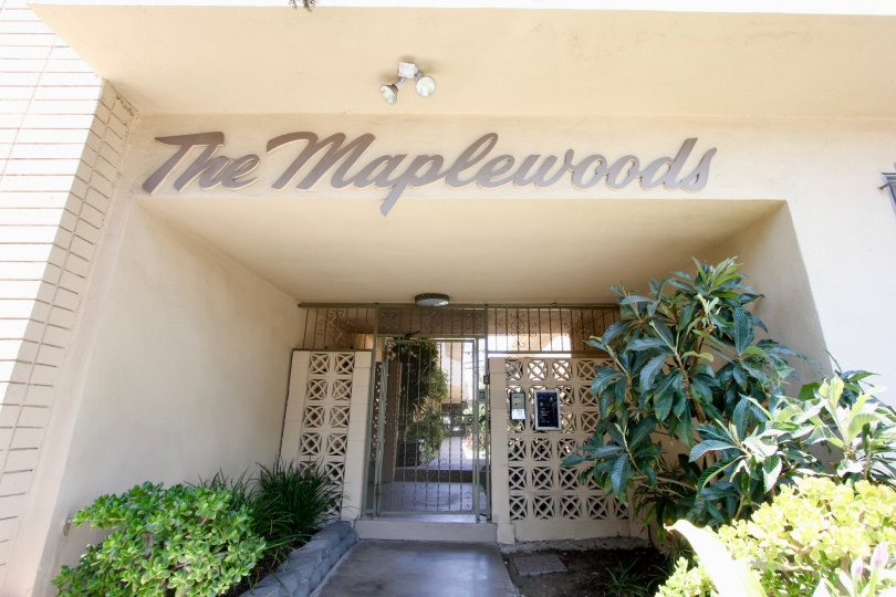 THE MAPPLE WOOD IS IN THE CITY OF HSNCOCK PARK AND IN THE STATE OF CALIFORNIA