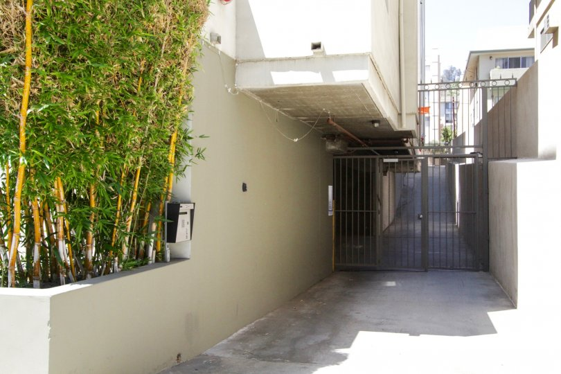 Franklin Place offers private gated parking