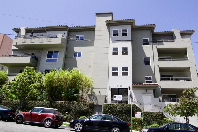 Franklin Place is a midrise condo building in Hollywood