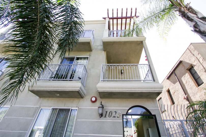 Hollywood Gate Homes offers balconies on many units