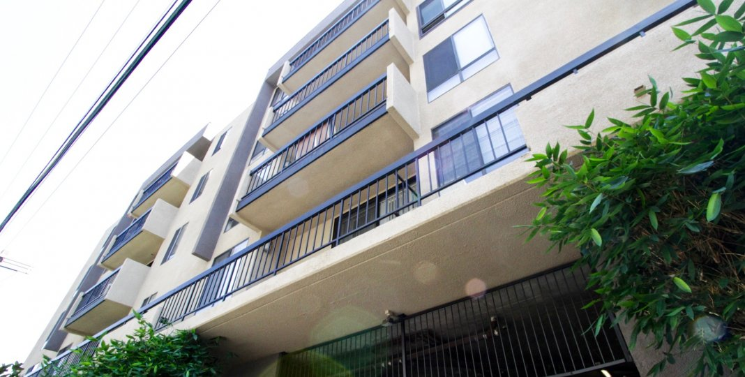 Hollywood Regis offers balconies on many of the units
