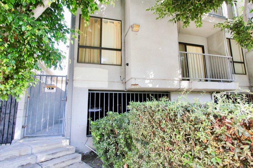 The windows seen in La Mirada Condominiums