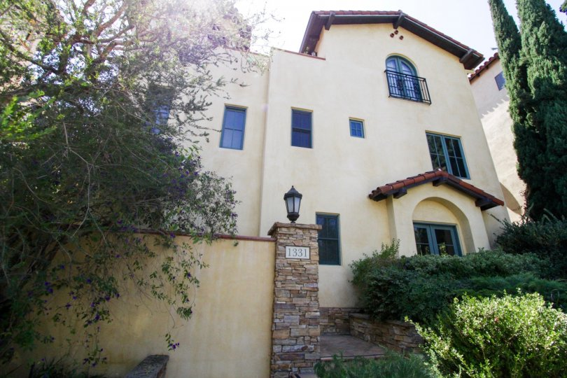 Resembling a Mediterranean style home La Serenata is a beautiful building in Hollywood