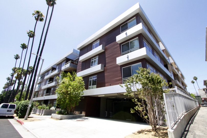 Metropol is beautiful modern condo building in Hollywood California