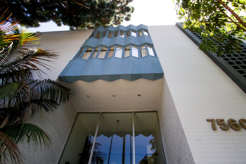 Sierra Terrace is a midcentury building in Hollywood