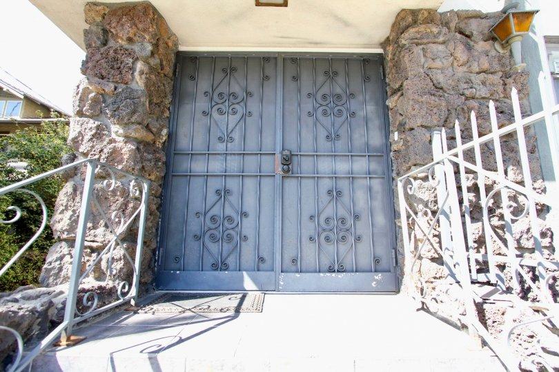 The entrance into The Wilton