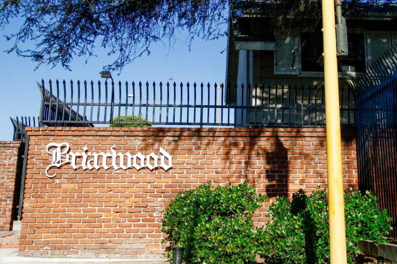 The Briarwood name upon entering into Inglewood