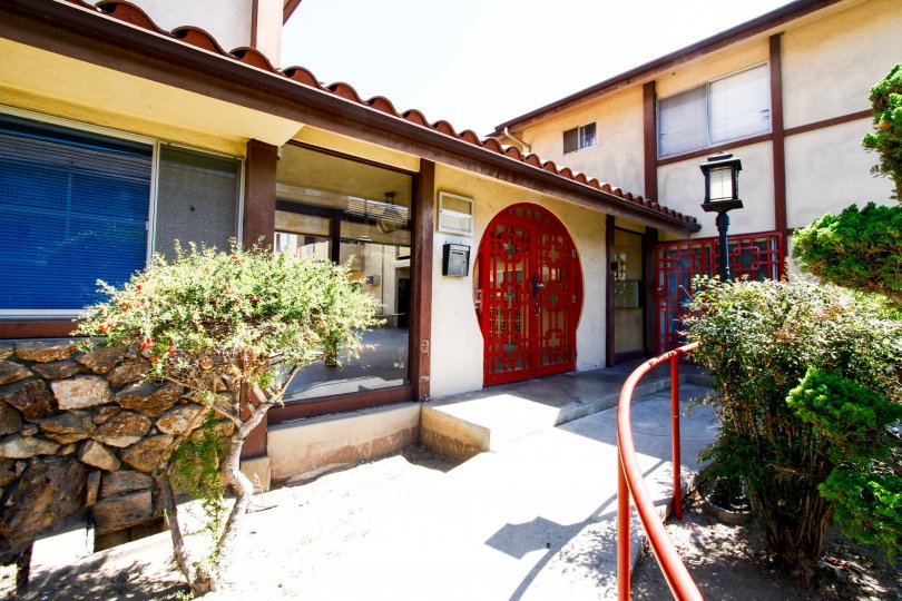 The entryway of the Fuji Gardens in Inglewood