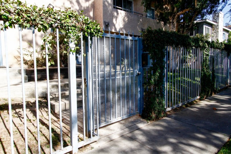 The gated entrance into the Inglewood Estates II