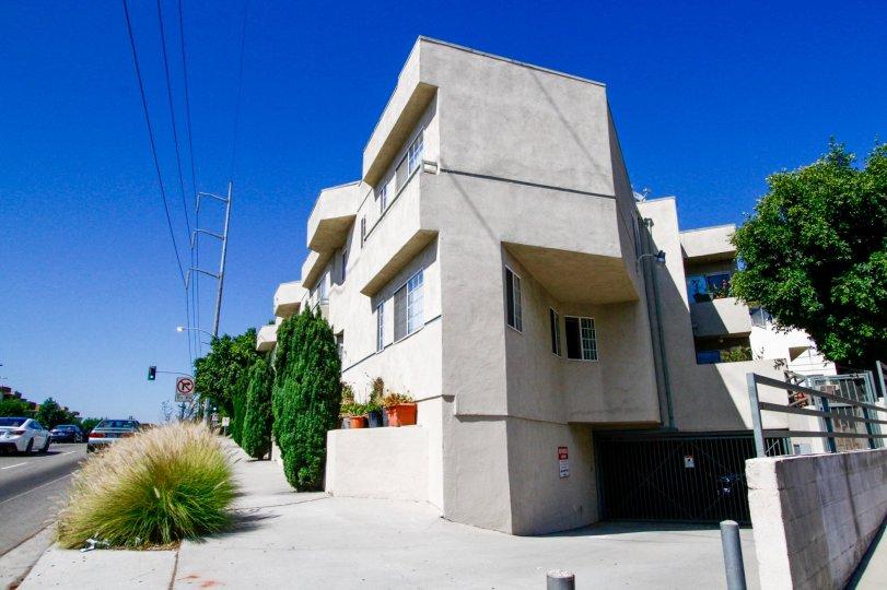 The Park La Cienega building in Inglewood