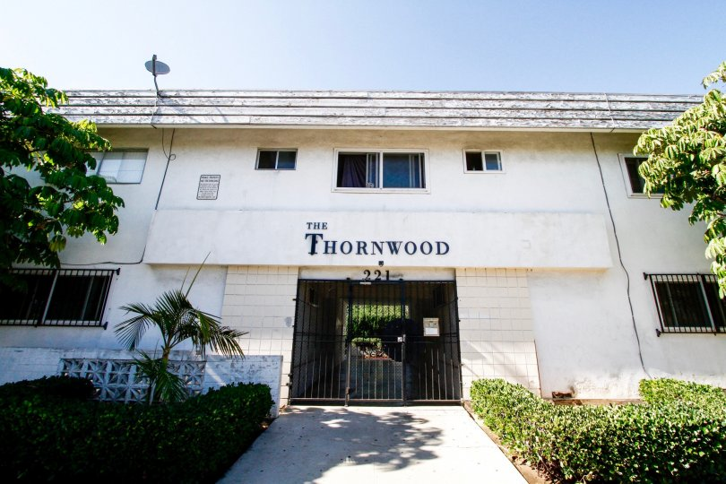 The doors into The Thornwood