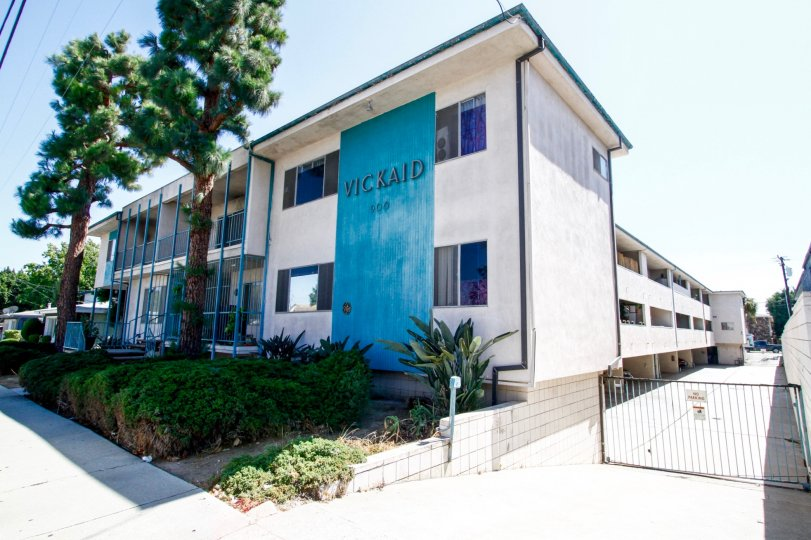 The Vickaid building in Inglewood