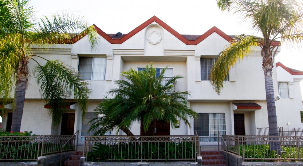 The West Beach Villas building in Inglewood