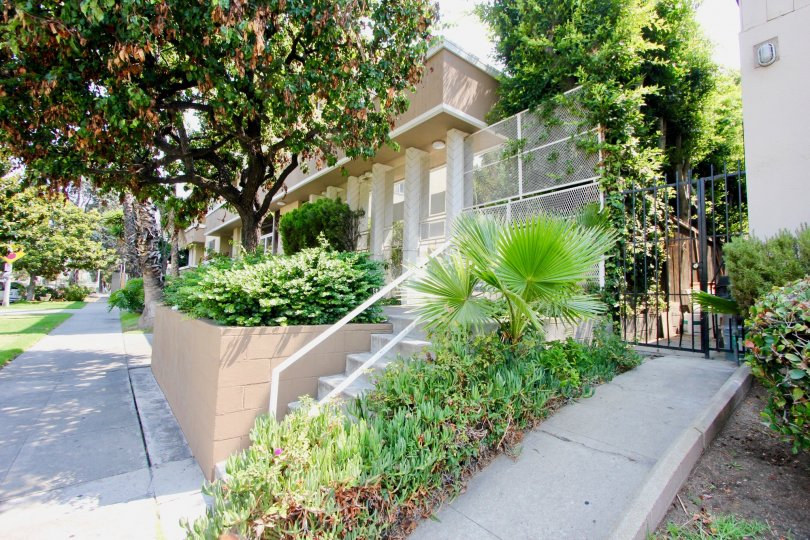 The Harvard Townhouses are in a lovely and safe are in koreatown with ample green space