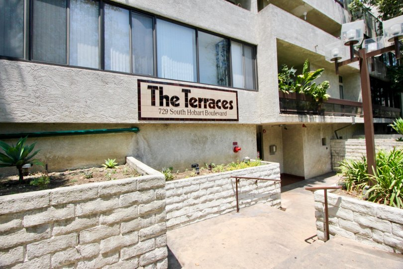 The Terrace in Koreatown California, on South Hobart Blvd.