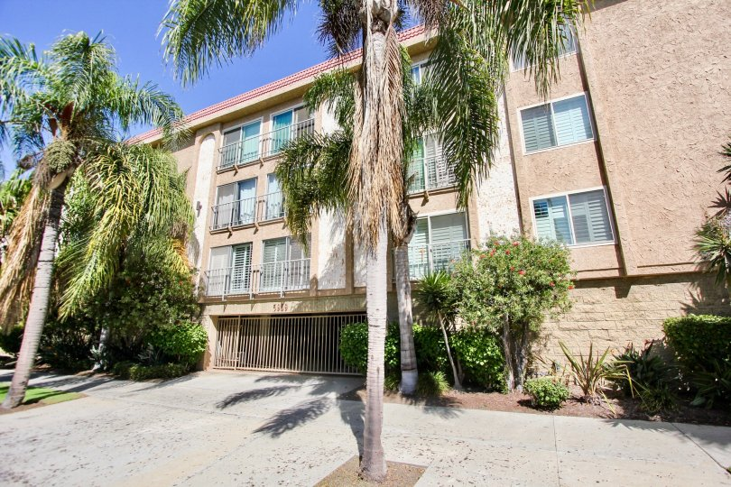 The view of 5959 E Naples Plaza in Long Beach, California