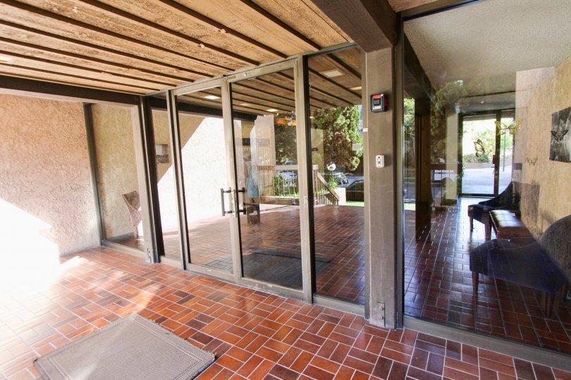 The doors into Bixby Heights