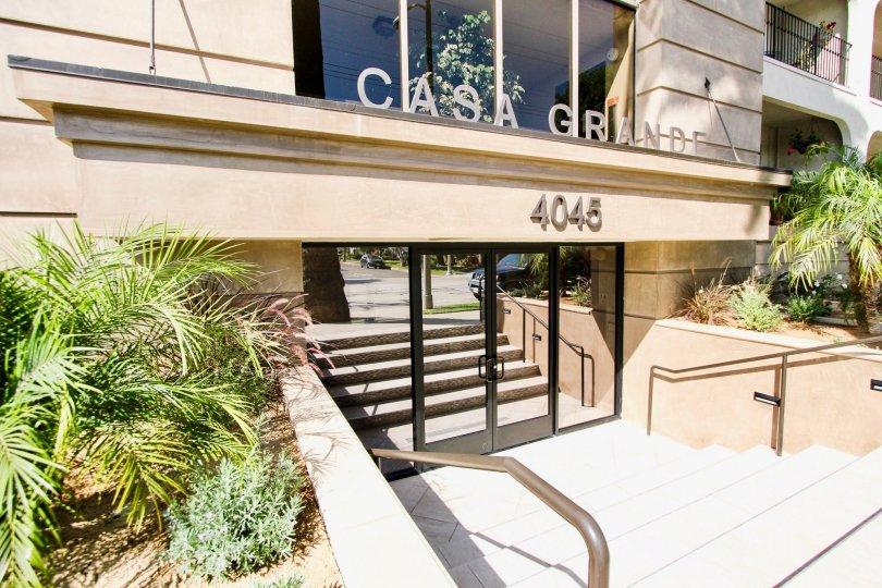 The entrance into Casa Grande