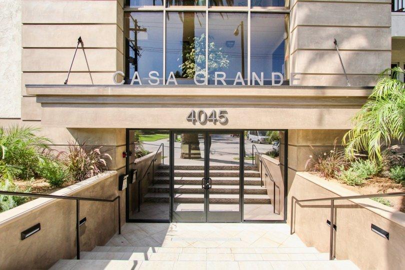 The entryway into Casa Grande