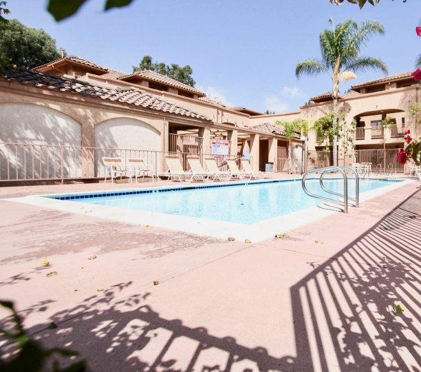 The pool area in Circleview