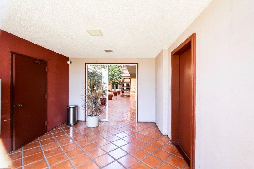 The foyer at Coronado Heights