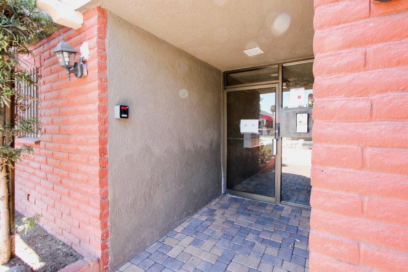 The entrance into Coronado Manor